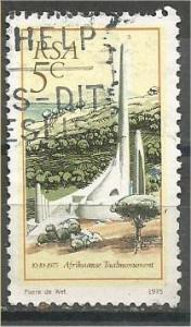 SOUTH AFRICA, 1975, used 5c, IAfrikaans Monument, Scott 450