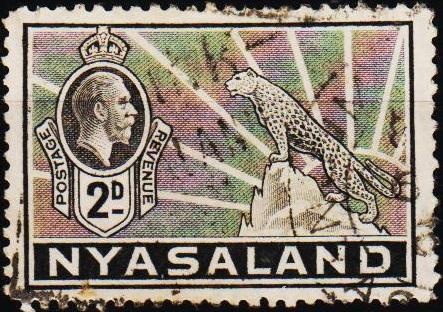 Nyasaland. 1934 2d S.G.117 Fine Used