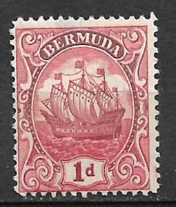 COLLECTION LOT #491 BERMUDA # 83 MH 1928