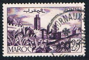 French Morocco 300 Used Walled City (BP737)