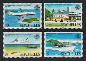 Seychelles Boeing 747 Bus Cruise Liner Tourism Conference 4v SG#478-481