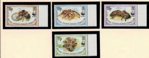 British Indian Ocean Territory (BIOT) Stamps Scott #132-5, Mint Never Hinged ...