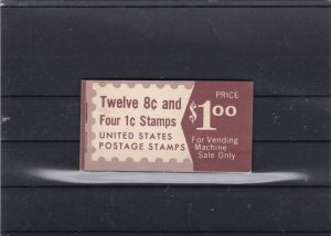 united states complete stamps booklet ref r11512