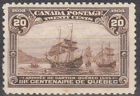 Canada #103 Unused CV $250.00 (D58)