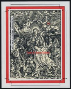Turks & Caicos Islands 1033 MNH Christmas, Art, Mary, Queen of the Angels