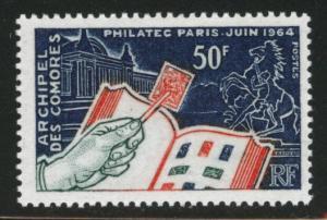 Comoro Islands Scott 60 MNH** 1964