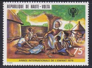 Burkina Faso # 494, Year of the Child, NH, 1/2 Cat.