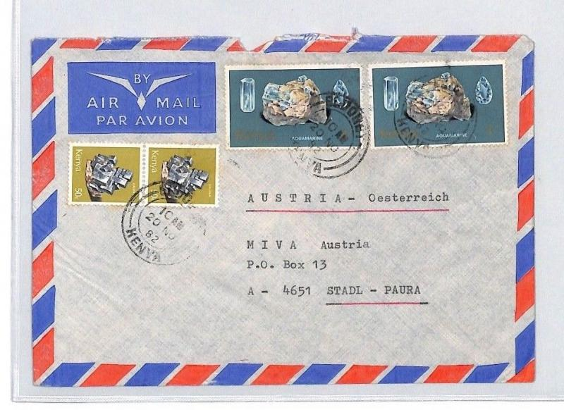 CA90 1982 KENYA Eldoret *CATHOLIC MISSION ELBOBET* Cover MISSIONARY VEHICLES