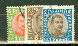 Iceland 108-128 used CV $223.65; scan shows only a few