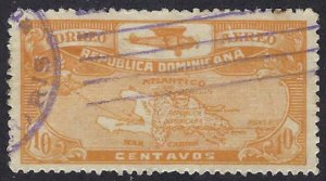 DOMINICAN REPUBLIC C2 USED, $3.00 BIN $1.20 MAP