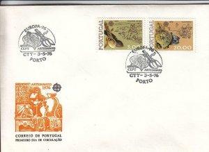1976, Portugal: EUROPA, FDC (D13512)