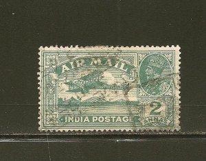 India C1 Airmail King George V  Used