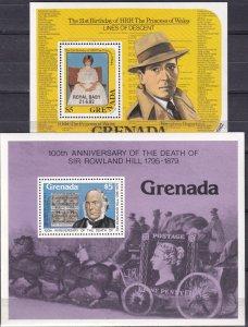 Grenada #930, 1119 MNH CV $5.50 (Z2031L)