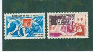 Burkina FAS 173-74 MNH BIN$ 1.80