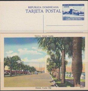 DOMINICAN REPUBLIC 1949 13 different 2c pictorial postcards fine unused....87772