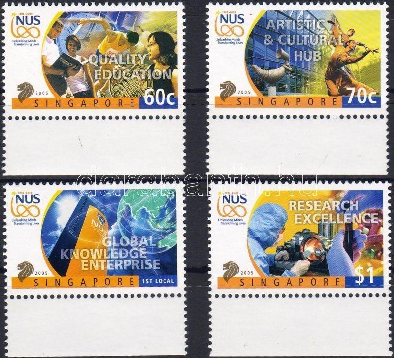 Singapore stamp 100th anniversary of college courses margin set MNH 2005 WS4399