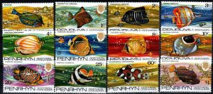 Penrhyn Island #50-61 MNH CV $8.80 (X1288)