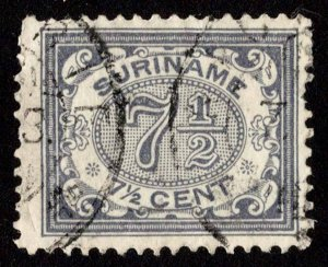 Surinam  50 Used.