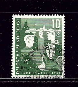 Germany B325 Used 1952 issue