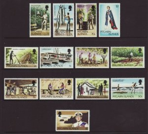 1977 Pitcairn Is Defin Set Unmounted Mint SG174/184
