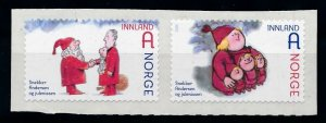 [I1751] Norway 2012 Christmas good set of stamps very fine adhesive