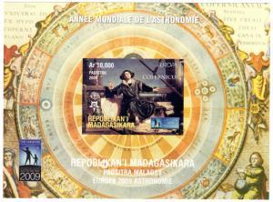 Madagascar 2009 COPERNICUS/EUROPA 50th.ANNIVERSARY SS (1) IMPERF.MNH VF