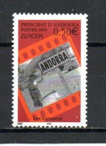 Andorra - French 584 MNH