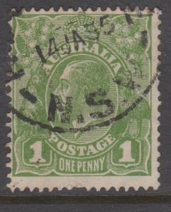 Australia KGV Sc#114 Used
