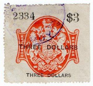 (I.B) QV Revenue : Consular Service $3 (Amoy)