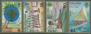Gilbert Islands 1977 SG60-63 Scouting set MLH