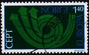 Norway. 1973 1k40 S.G.699 Fine Used