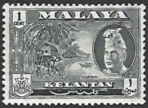 Malaya Kelantan #72 Mint Hinged Single Stamp