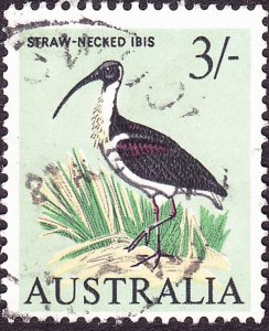AUSTRALIA 1964 9d Black, Grey & Pale Green SG364 Used