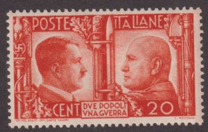 Italy 414 Adolf Hitler and Benito Mussolini 1941