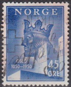 Norway #306 F-VF Used (B6867)