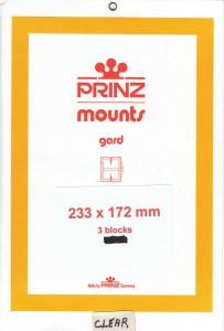 PRINZ 233X172 (3) BLACK MOUNTS RETAIL PRICE $10.50