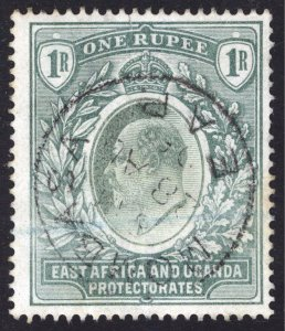 KUT East Africa & Uganda 1903 1r Green SG 9 Scott 9 VFU Cat £60($91)