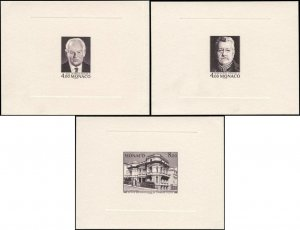 Monaco 1987 - 50 years of the stamp issue office, proof, Slania, VERY RARE !!!
