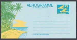 FIJI Flying Fish postage paid pictorial aerogramme unused...................K133