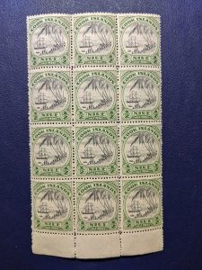 Niue 60 F-VFNH multiple of 12, CV $16