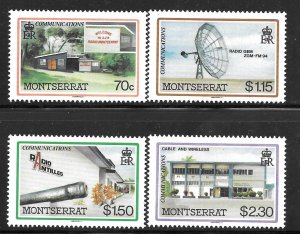 Montserrat 622-625: Radio Stations, Antennae, MH, VF