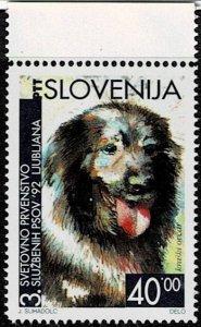 1992 Slovenia Scott Catalog Number 144 Unused No Gum