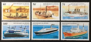 Benin 1995 #748-53, MNH, CV $4.35