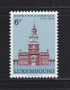 Luxembourg 587 Set MNH American Bicentennial (B)