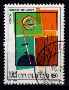 Vatican City 1994 Special Assembly for Africa of Synod of Bishops, 850l [Used]