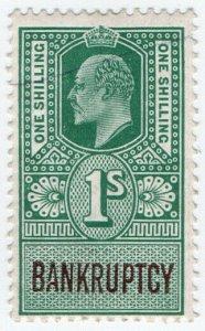 (I.B) Edward VII Revenue : Bankruptcy 1/-