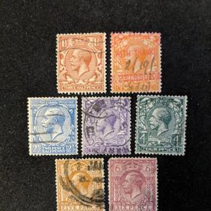 Great Britain 161-7 VF, CV $29