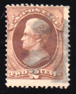 United States Scott 146 Used with corner crease