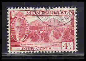 Montserrat Used Very Fine ZA5642