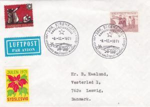 Greenland 1971 FDC Stromfjord CDS VGC